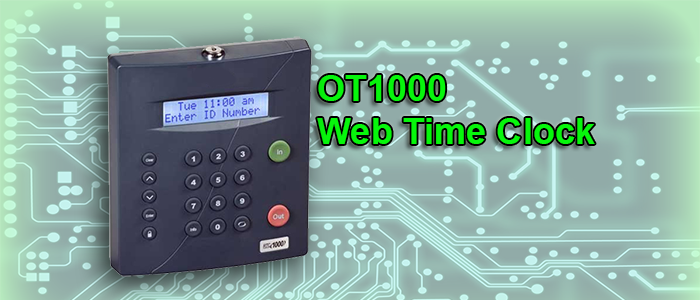 OT1000 Web Time Clock