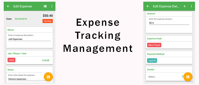 Expense Tracking Management