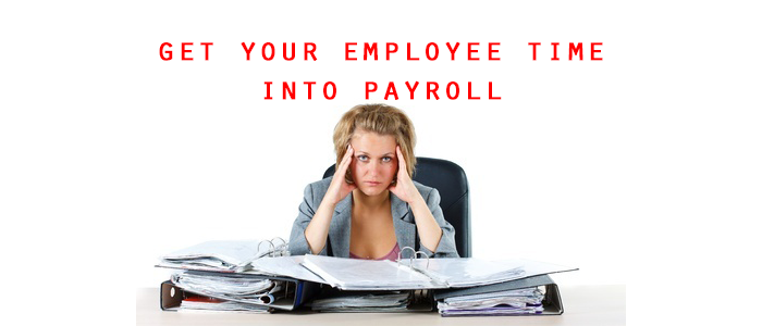 Get Employee Time into Payroll