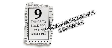 Time and Attendance Software