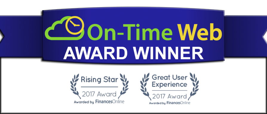 On-Time Web Wins Awards