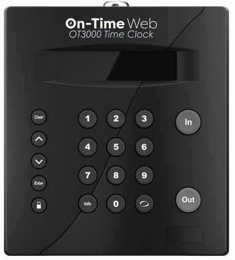 OT-3000 RFID Time Clock