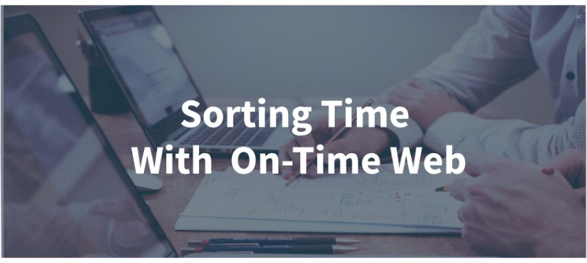 Sorting Time