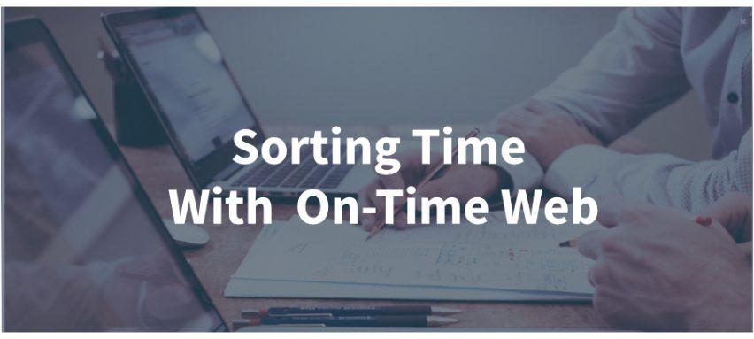 Sorting Time